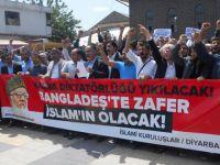 Bangladeş Diktasının İdamları Diyarbakır'da Tel'in Edildi