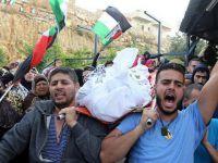 Şehit Kardeşler Kudüs'ün Katanna Beldesinde Toprağa Verildi