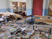 PKK'lılar Nusaybin'deki Okulları Harabeye Çevirdi