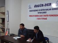 """Tatvan Özgür-Der'de """"Kur'ân'da Fısk ve Fasık"""" Konuşuldu"""