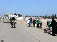 165 Bin Suriyeli Azez Yakınlarında Sıkışıp Kaldı