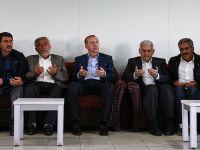 Erdoğan ve Yıldırım Dürümlü'ye Taziye Ziyaretinde Bulundu