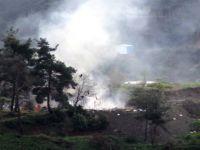 ABD Uçakları ÖSO'ya Ait Mevzileri Bombaladı