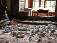 Şehzadebaşı Camii'nde Büyük Hasar (FOTO)