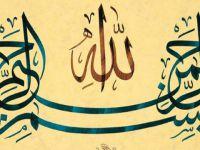 Hayatın ve Vahyin Üst Başlığı: Besmele