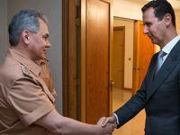 Rusya Savunma Bakanı, Esed'i Ziyaret Etti!
