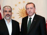 Cumhurbaşkanı Erdoğan, Hamas Lideri Meşal'le Görüştü