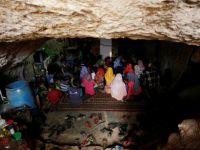Suriye'de Mağara'da Eğitim!