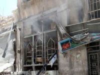 Esed Güçleri Doğu Guta'ya Füzelerle Saldırdı