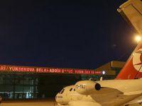 Selahaddin Eyyubi Havalimanı'na 11 Ay Sonra İlk Kez Uçak İndi