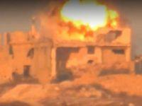 Suriye'de Rus Subayların Direnişçilerce ATGM ile Vurulma Anı  (Video)