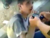Esed'in Şebbihaları Çocuğa Böyle İşkence Ettiler (Video)
