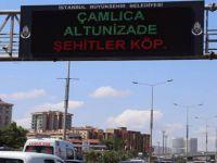 """Digital Panolara """"15 Temmuz Şehitler Köprüsü"""" Yazıldı"""