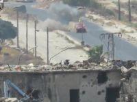 Halep'te Hizbulesed'in Pikabı Kornet Füzesi ile Vuruldu (VİDEO)