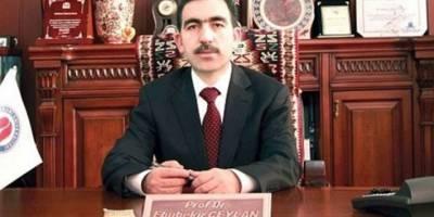 Hakkari Üniversitesi Rektörü Ceylan Tutuklandı