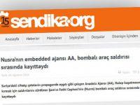 Şebbihanın Tetikçi Sitelerinden Sendika.org'dan AA'ya Saldırı