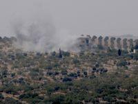 TSK, Cerablus'un Güneyindeki PYD Mevzilerini Vurdu