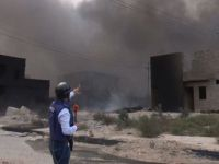 Musul'da Devam Eden Yangın Yüzünden 20 Bin Kişi Tehlikede