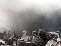 Bağdat'ta Askeri Mühimmat Deposunda Patlama