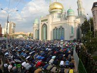 Moskova'da Bayram Namazı