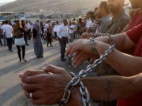 Muhaliflerin PYD'ye Karşı Açlık Grevi 10'uncu Gününde