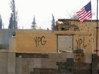 PYD Binasında Hâlâ ABD Bayrağı Dalgalanıyor!