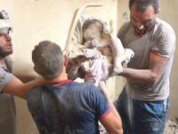 Halep'e Ölüm Yağıyor