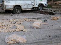 Halep'te Fırında Ekmek Bekleyenleri Vurdular