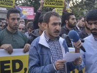 Halep Katliamı Bingöl'de Protesto Edildi