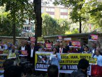 Halep Katliamı Kocaeli'de Protesto Edildi
