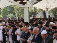 Halep Katliamı ve Katil Putin'in Türkiye Ziyareti Fatih Camii'nde Protesto Edildi