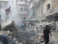 Halep'te 'Deprem Etkisine' Yol Açan Saldırı