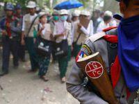 Myanmar Hükümetinden Arakanlı Müslümanları Bombalamaya Vize!