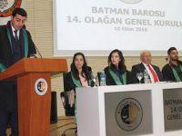 Batman Barosu Seçimlerini Abdülhamit Çakan Kazandı