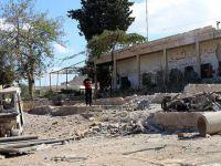 Esed Rejimi Sivil Savunma Merkezini Bombaladı