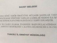 Tunceli'de Kepenk Kapatanlar İfadeye Çağrılıyor