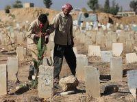 Suriye'de Mezarlıklar Yetersiz Kaldı!