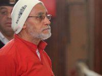 Muhammed Bedii ve 36 İhvan Üyesi Hakkında Müebbet Cezası Onandı