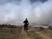 Musul'da Zehir Saçan Kükürt Tesisi Yanmaya Devam Ediyor!