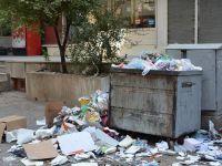Diyarbakır'da Otobüsler Hizmet Vermedi, Çöpler Toplanmadı