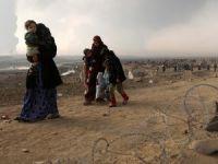 Musul'da 'On Binlerce Sivil Canlı Kalkan'
