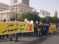 Ürdün Halkı İşgal Rejiminden Gaz Alımını Protesto Etti