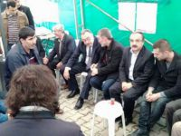 Sakarya Özgür-Der'den Muhammed Fatih Safitürk'ün Ailesine Taziye Ziyareti