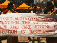 Avustralya'da Mültecilere Ömür Boyu Vize Yasağı Protesto Edildi