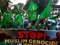 Arakanlı Müslümanlara Yapılan Zulüm Endonezya'da Protesto Edildi