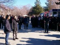 Erzurum'da Halep İçin Yapılacak Basın Açıklamasına Polis Engeli