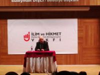 """Sakarya'da """"15 Temmuz Sosyolojisinin İslami Rengi"""" Konferansı Gerçekleştirildi"""
