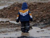 Musul'da Etkili Olan Yağış Mültecileri Vurdu