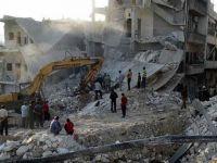 Esed Rejimi İdlib'de Yerleşim Yerine Saldırdı