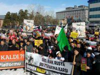 Erzurumlu Müslümanlar Halep İçin Yürüdü